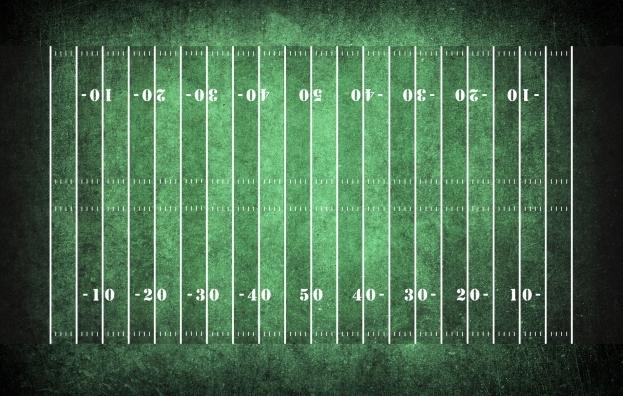American-football-field-pattern-on-the-dark-green-grunge2