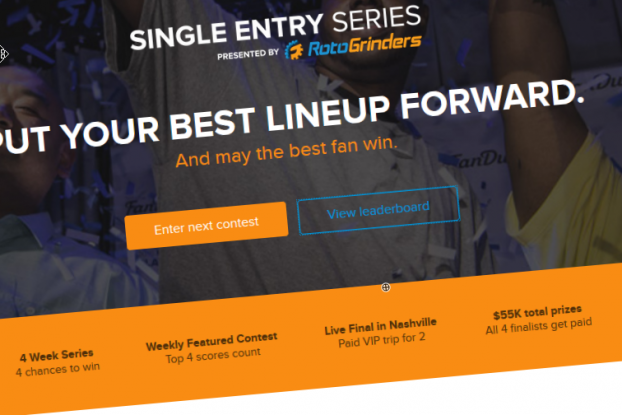 RotoGrinders single entry series