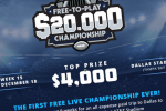 DraftKings free to play $20k